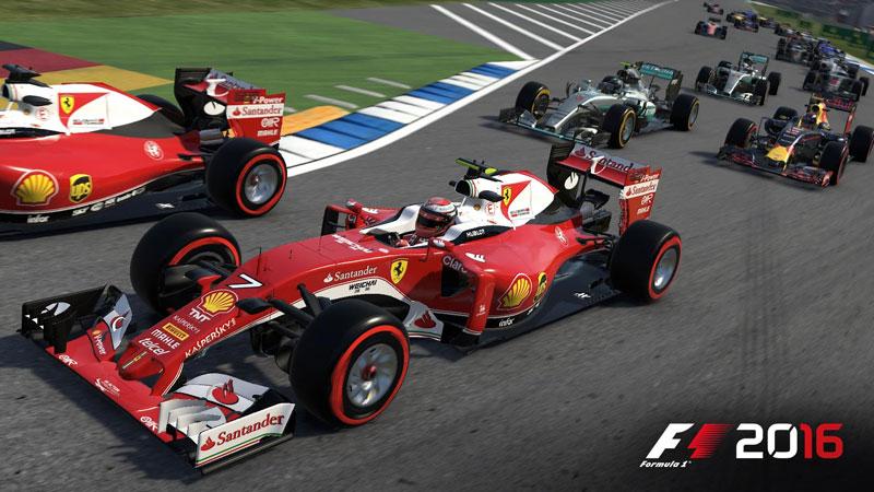 F1 2016 Modo Carrera
