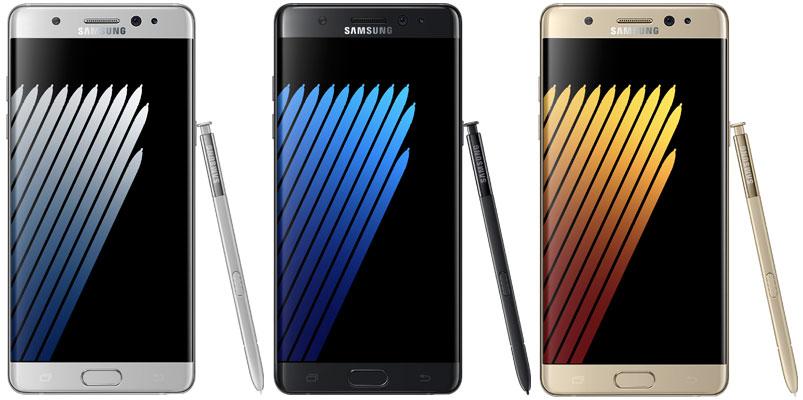 Precio y características de Galaxy Note7 en México