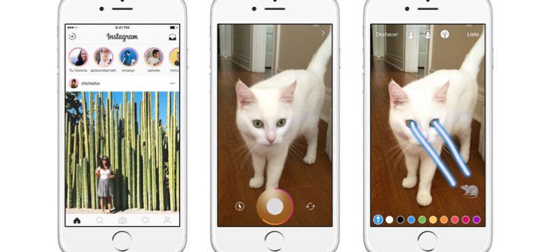 Instagram Stories iPhone