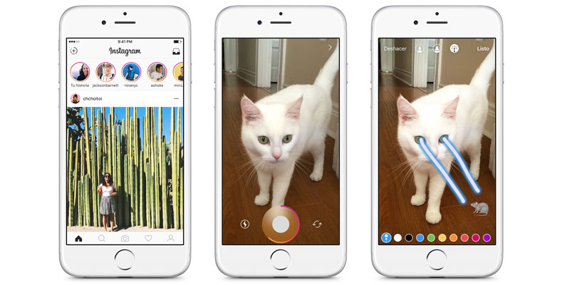 Instagram le pone un freno a Snapchat con Instagram Stories