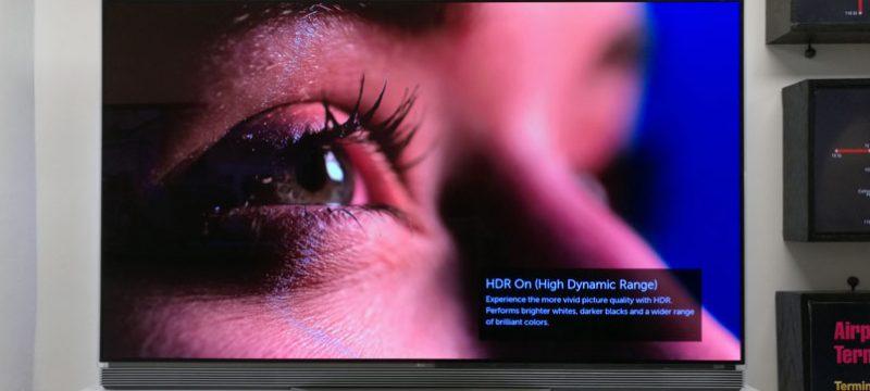 LG OLED TV 2016 4K HDR