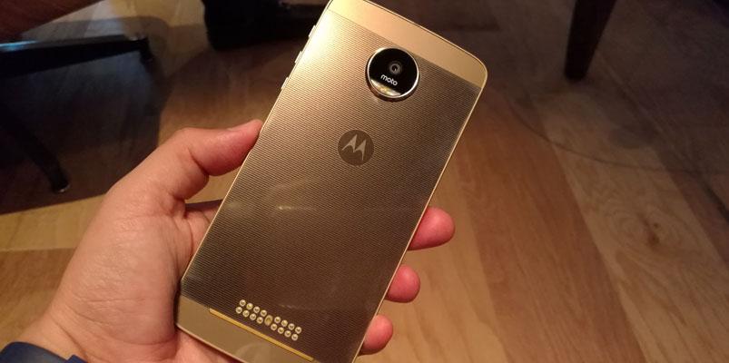 Moto Z el smartphone Premium más delgado en México