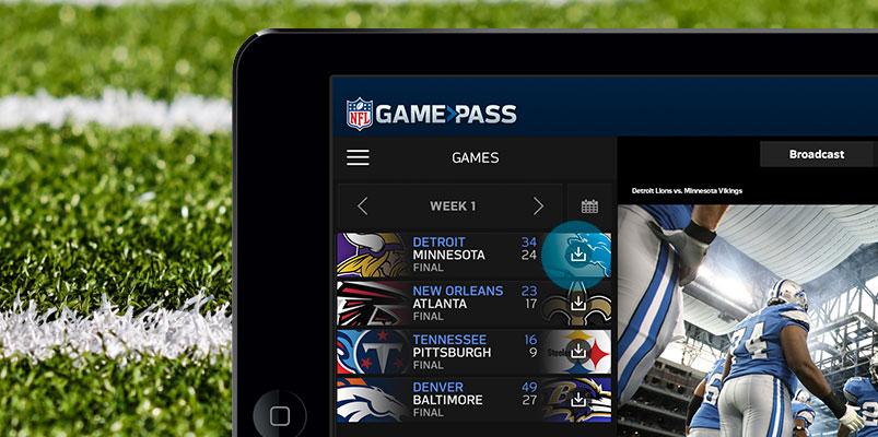 NFL Game Pass International disponible en México