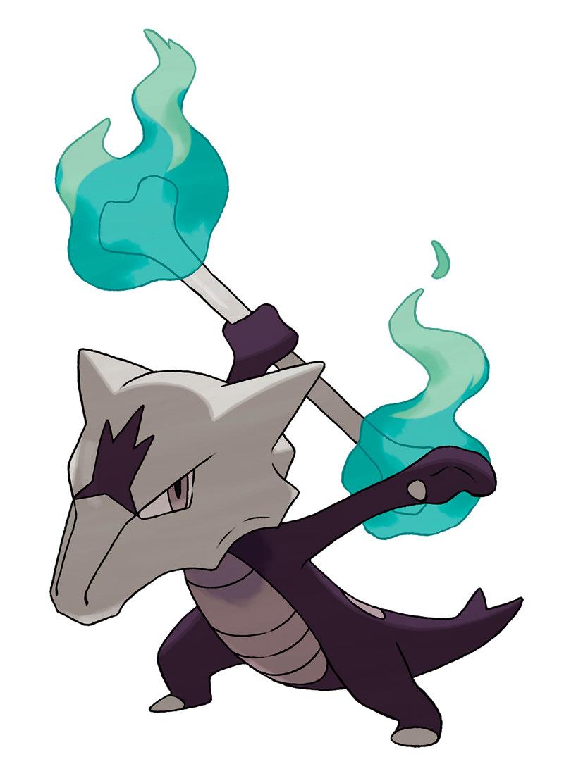 Nuevos Pokemon Marowak