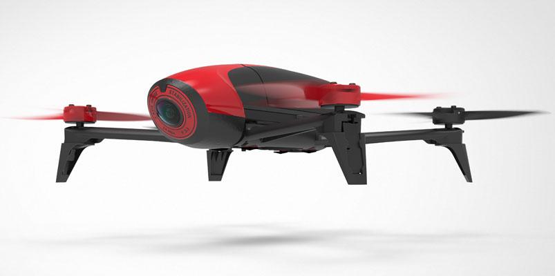 Parrot Bebop 2 un dron con cámara Fisheye de 14 Mpixeles