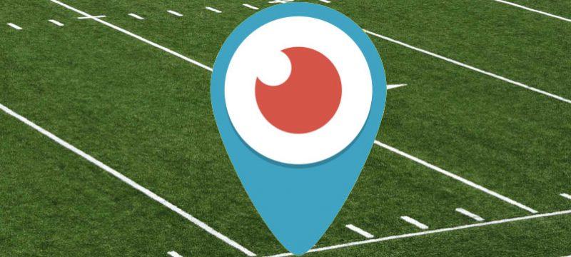 Periscope NFL transmitirán partidos