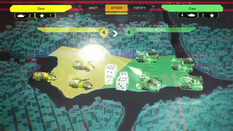 RISK Urban Assault llega para tus consolas