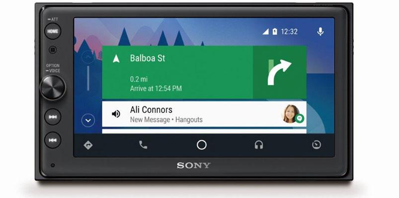 Sony XAV-AX100, el autoestéreo con Android Auto y CarPlay