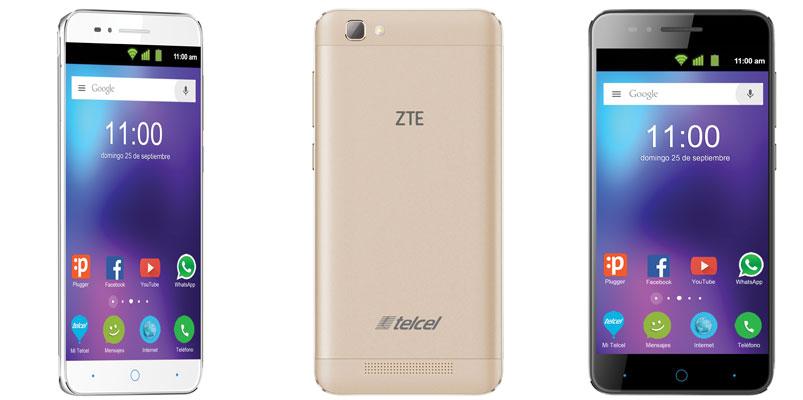 ZTE Blade V6 MAX con Telcel