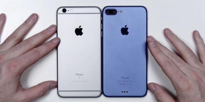 Unbox Therapy tiene el mejor mock-up de iPhone 7