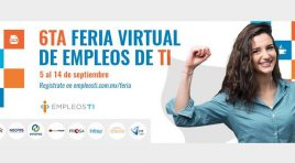 Todo listo para la 6ta. Feria Virtual de Empleos de TI