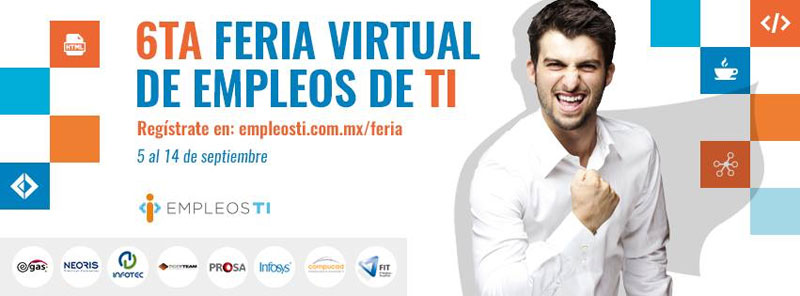 Feria Virtual de Empleos de TI Mexico
