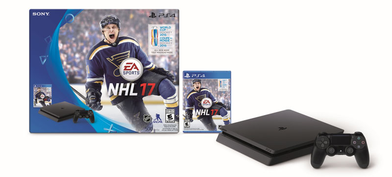 PS4 Slim NHL 17