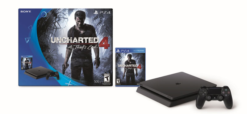 PS4 Slim Uncharted
