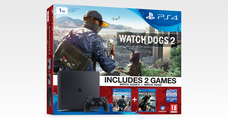 PS4 Slim watch_dogs