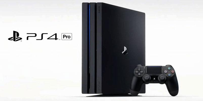 PlayStation 4 Pro con 4K sólo para juegos, llegará en noviembre