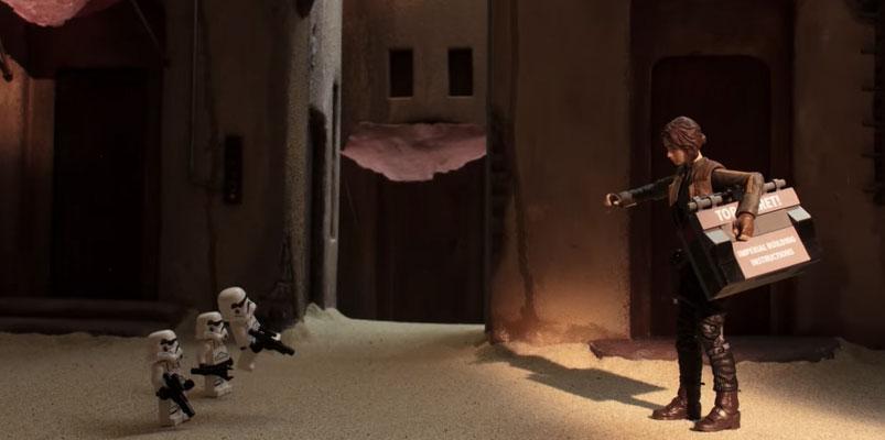 #GoRogue presentará la linea de juguetes de Star Wars