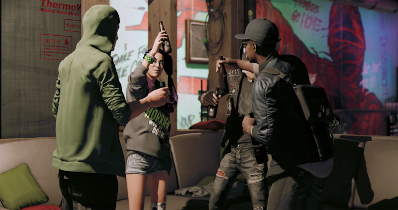 watch dogs 2 personajes