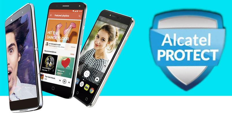 Alcatel Protect, el servicio de protección contra accidentes en smartphone