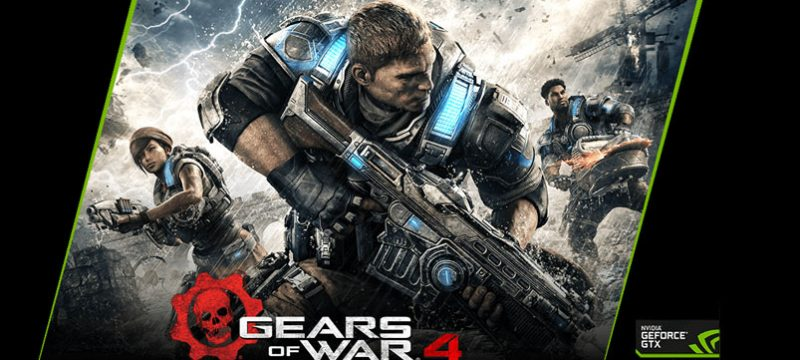 gears of war 4 geforce game ready