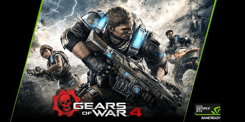 GeForce Game Ready mejora la experiencia de Gears of War 4