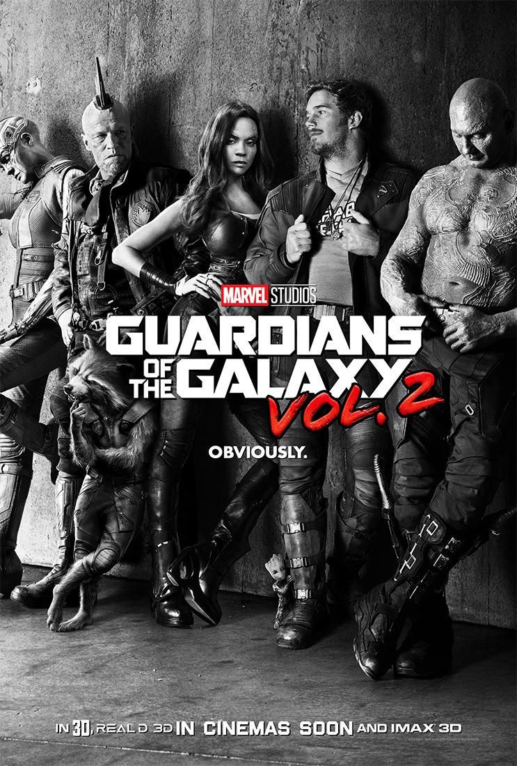 guardianes de la galaxia vol2 poster