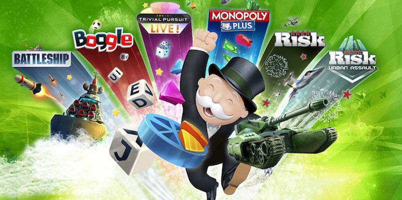 Seis juegos dentro de Hasbro Family Pack Super Edition