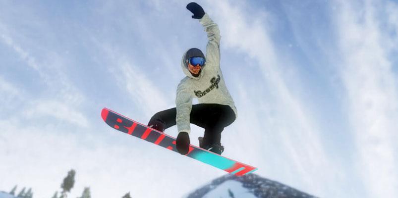 Mark McMorris Infinite Air, regresan los juegos de Snowboarding