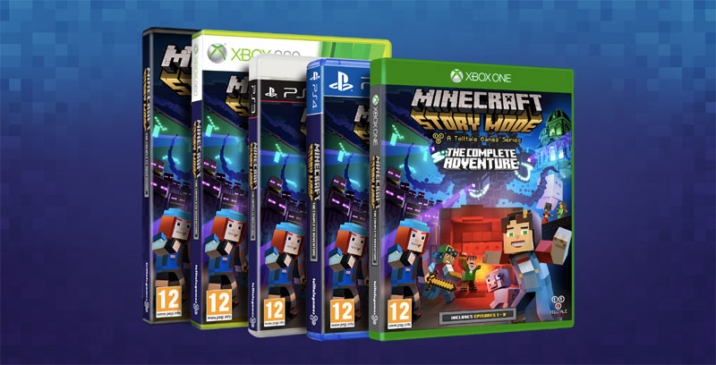 minecraft story mode the complete adventure xbox