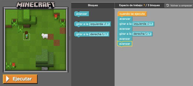 minecraft programar