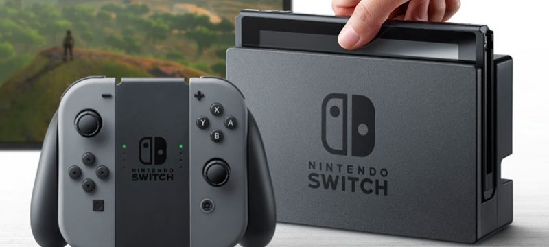 nintendo switch marzo 2017