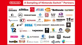 Desarrolladores que apoyan a la consola Nintendo Switch