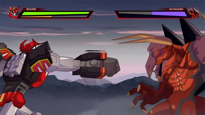 power rangers mega battle juego
