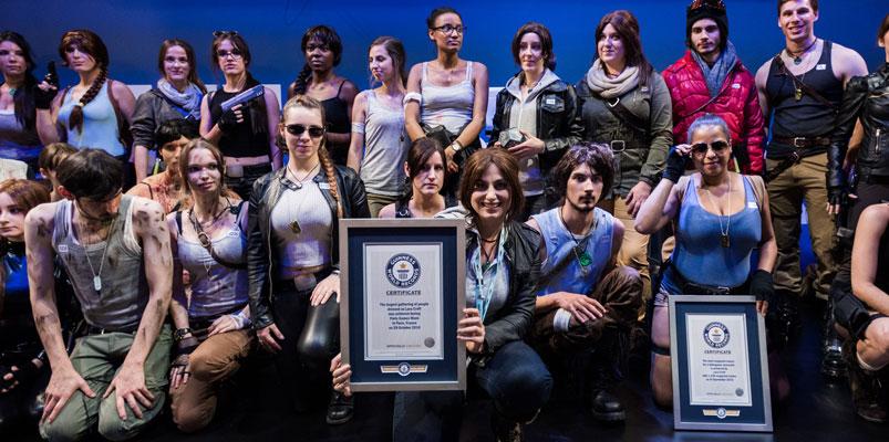 Tomb Raider y Lara Croft reciben nuevos Récords Guinness