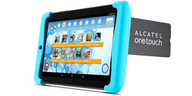 alcatel PIXI KIDS, la tablet pensada para los más pequeños