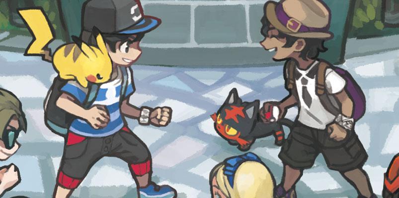 Demo de Pokémon Sol y Pokémon Luna y evoluciones
