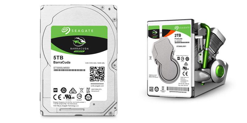 Los nuevos discos duros BarraCuda de hasta 5TB