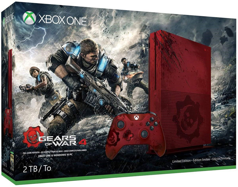 bundle gears of war 4 xbox one s