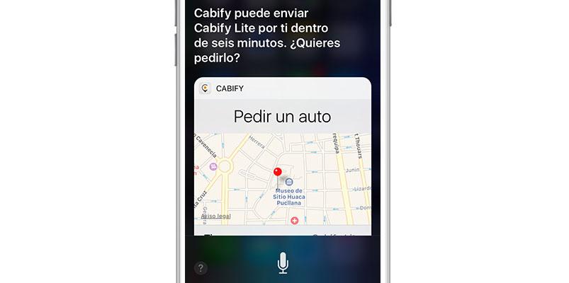 Ahora puedes pedir un Cabify con ayuda de Siri, aprende cómo
