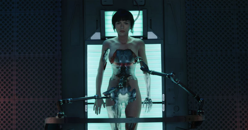ghost in the shell peliculas