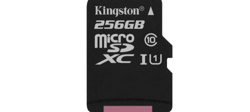 kingston microsdxc 256gb