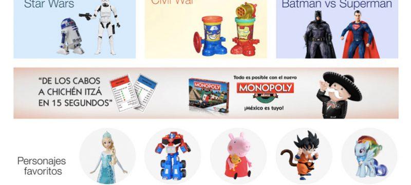 los juguetes amazon