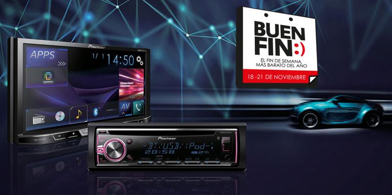 Audífonos, auto-estéreos y bocinas Pioneer para el Buen Fin 2016