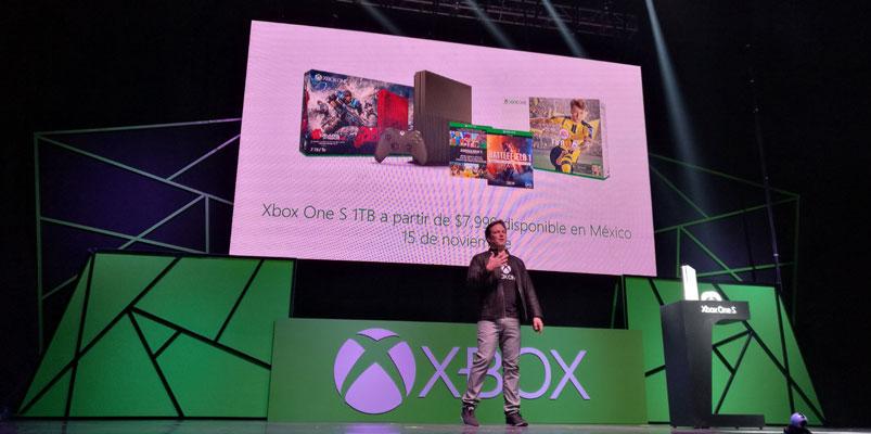 xbox one s precio y fecha mexico