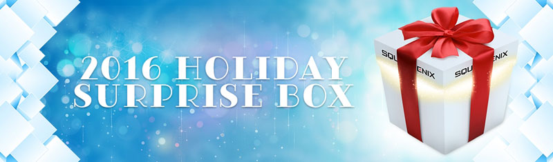 2016 Holiday Surprise Box de Square Enix