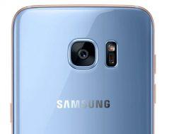 Galaxy S7 edge Blue Coral