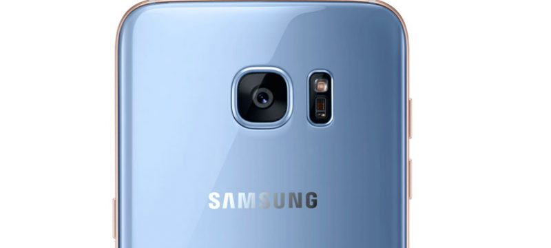 Galaxy S7 edge Blue Coral