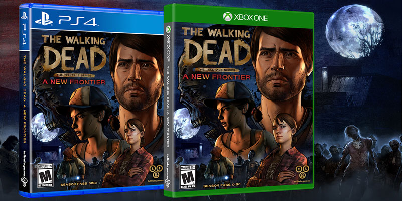 The Walking Dead – A New Frontier llegará a tu consola favorita
