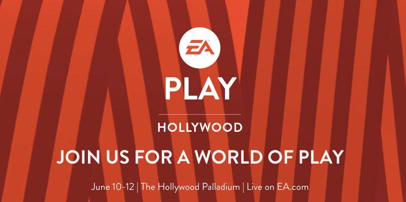 EA Play 2017 tendrá lugar del 10 al 12 de junio en Hollywood