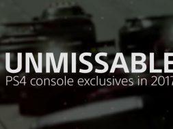 Juegos exclusivos PlayStation 4 2017